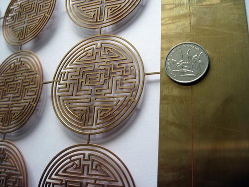 铜腐蚀工艺品